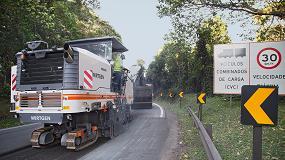 Foto de Una fresadora W 200 de Wirtgen participa en la rehabilitación de dos de las principales autopistas de Brasil