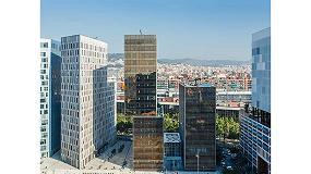 Foto de El Screen Nature de Mermet, fundamental para la certificación LEED Oro en Barcelona