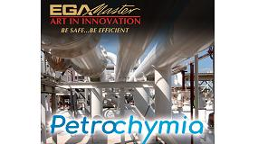 Foto de EGA Master expone en el salón Petrochymia de Martigues (Francia)