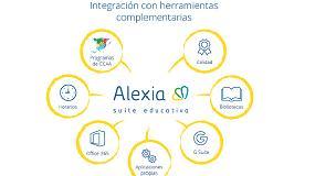 Foto de Alexia, una suite educativa para la gestión, la comunicación, la enseñanza y el aprendizaje