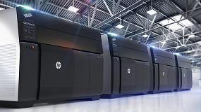 Foto de HP lanza la tecnología de impresión 3D para la producción de piezas metálicas