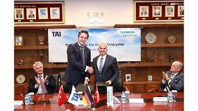 Foto de Siemens se convierte en proveedor de tecnología digital de Turkish Aerospace