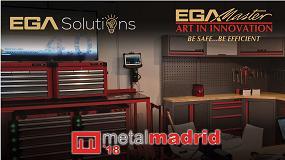 Foto de EGA Master y EGA Solutions exponen en MetalMadrid 2018