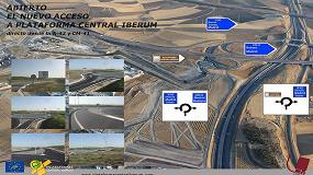 Foto de Plataforma Central Iberum inaugura un nuevo acceso desde la CM-42 y la A-42