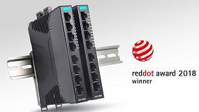 Foto de Los conmutadores inteligentes SDS-3008 de Moxa ganan el premio de diseño Red Dot