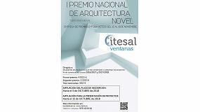 Foto de Itesal amplía el plazo de su I Premio Nacional de Arquitectura Novel Itesal Veteco 2018