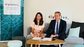 Foto de Feique y DigitalES firman un acuerdo de colaboración para impulsar la digitalización de la Industria Química