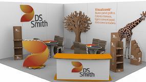 Foto de DS Smith presenta su producto para las artes gráficas Visualcomb en C!Print Madrid 2018