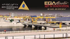 Foto de EGA Master suministra herramienta neumática al Ministerio de Recursos Hídricos e Irrigación egipcio