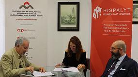 Foto de Hispalyt y el Colegio Oficial de Aparejadores y Arquitectos Técnicos de Madrid firman un convenio de colaboración