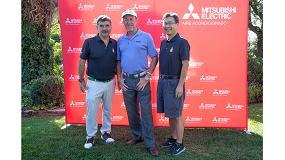 Foto de El golfista Miguel Ángel Jiménez, en el Golf Day de Mitsubishi Electric