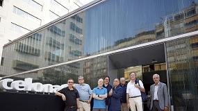 """Foto de Éxito de la mesa redonda """"Miradas Transversales. Arquitectura de montaña en el siglo XXI"""" en el Roca Barcelona Gallery"""