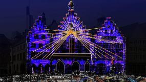 Foto de La Luminale 2018 llena Frankfurt de arquitectura, luz y color