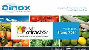 Foto de Dinox estará presente en Fruit Attraction