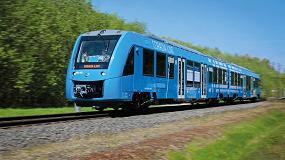 Foto de Coradia iLint, el primer tren de hidrógeno del mundo en entrar en servicio