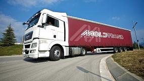 Foto de El Grupo Moldtrans agiliza el transporte de mercancías por carretera entre Andalucía y Portugal