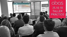 Foto de Abas presenta su ERP para la industria en un taller práctico en Barcelona el 25 de octubre