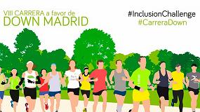 Foto de La Fundación Txema Elorza patrocina la Carrera a Favor de Down Madrid