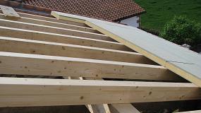 Foto de Nuevo panel Sándwich Ondutherm con aislamiento ecológico de fibra de madera