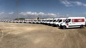 Foto de La empresa Irco renueva su flota con 20 furgonetas Renault Master