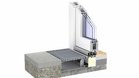Foto de PremiPlan Plus, de Kömmerling, solución de umbral para construcciones accesibles