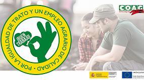 Foto de Campaña divulgativa sobre buenas prácticas laborales en el sector agrario