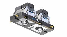 Foto de Schunk lanza una nueva gama de placas base estándar para unir las mordazas Tandem KSP con el sistema Vero-S