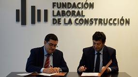 Foto de Acuerdo de colaboración entre la Fundación Laboral de la Construcción y Asefave