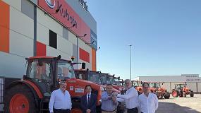 Foto de Una empresa andaluza de alquiler de maquinaria incorpora 20 tractores Kubota