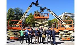 Foto de Riwal, nuevo distribuidor de JLG para Croacia, Eslovenia, Bosnia y Herzegovina y Montenegro