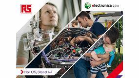 Foto de RS Components participa en Electronica 2018