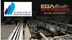 Foto de EGA Master, nuevo suministrador de Basrah Gas Company (BGC) en Iraq