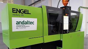 Foto de Andaltec adquiere una nueva inyectora para el diseño y desarrollo de plásticos técnicos