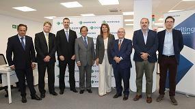 Foto de Domino España celebra el acto de inauguración de su nueva sede en la localidad madrileña de Alcobendas