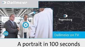 Foto de Dallmeier en 100 segundos: retrato televisivo de un operador global del sector de la vídeoseguridad con raíces en Ratisbona