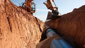Foto de Segunda fase del proyecto de impulsión y balsa para la puesta en riego de 838,4 ha en los parajes La Sarda y El Terrero (Zaragoza)