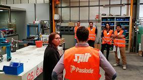 Foto de AD'IP visita las fábricas de Spit en Francia