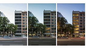 Foto de Soluciones de Griesser en el edificio Ferrocarril 4BIS, de Israel Alba