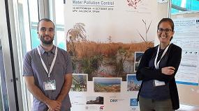 Foto de Facsa presenta sus innovaciones sobre humedales artificiales en el congreso internacional de la IWA