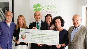 Foto de Farmacias Trébol colabora con la Fundación Aladina en su programa de becas deportivas