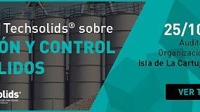 Foto de Techsolids celebra una jornada sobre 'Gestión y control de sólidos' en Sevilla