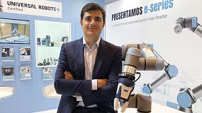 Foto de Entrevista a Jordi Pelegrí, director de Negocio para Iberia de Universal Robots