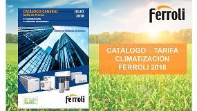 Foto de Nuevo catálogo-tarifa de Climatización 2018 de Ferroli