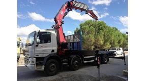 Foto de Transgrúas entrega una nueva grúa Fassi F545RA.2.26 en Menorca