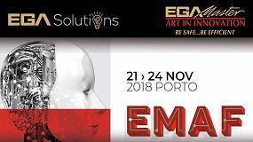 Foto de EGA Master y EGA Solutions exponen en Emaf (Oporto)