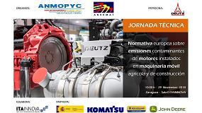 Foto de Anmopyc y Ansemat organizan una jornada sobre la entrada en vigor de la fase V de motores
