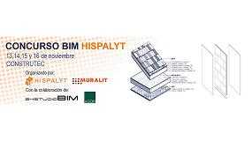 Foto de Abierta la inscripción para el I Concurso BIM-Hispalyt que tendrá lugar en Construtec