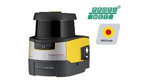 Foto de Escáner láser de seguridad de fácil integración en redes industriales