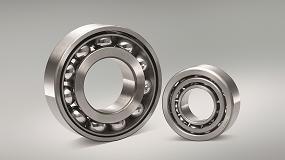 Foto de Los rodamientos de bolas de contacto angular NSK de gran capacidad ofrecen una vida útil más larga