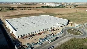 Foto de Inbisa avanza a gran ritmo la construcción del almacén de e-commerce de Montepino en Cabanillas del Campo